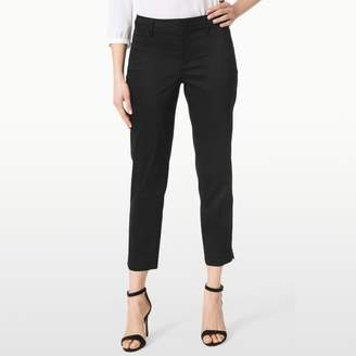 Slim Fit Ankle In Stretch Sateen $114 thestylecure.com