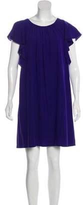 Sonia Rykiel Sonia by Silk-Blend Mini Dress