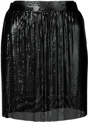 Fannie Schiavoni chainmail mini skirt