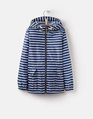 Rowan Waterproof Jacket 3 12yr in Blue Stripe