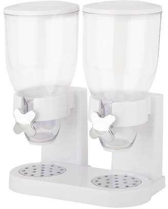 Honey-Can-Do Zevro Double Canister Original Cereal Dispenser