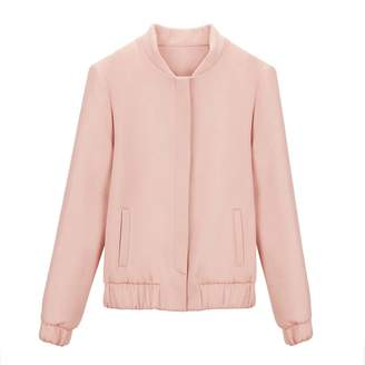 Cuyana Wool Cashmere Bomber Jacket