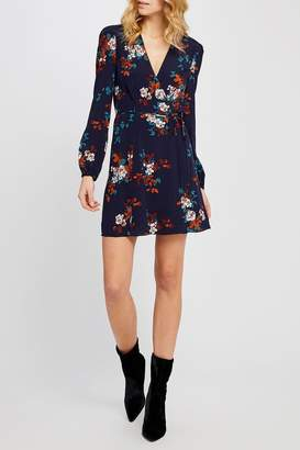 Gentle Fawn Floral Wrap Dress