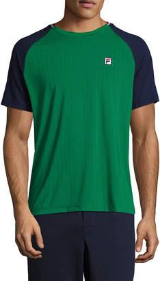 Fila Heritage Textured Crewneck T-Shirt