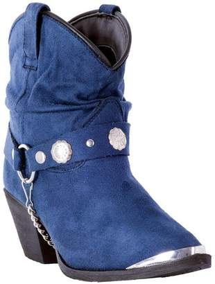 Dingo Western Boots Womens Fashion Toe Fiona Dancer 8 M Navy DI8946