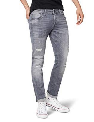 ... Jack and Jones Men s Jjiglenn Jjoriginal Jj 052 50sps Noos Slim Jeans,  Grey Denim, dd43284137