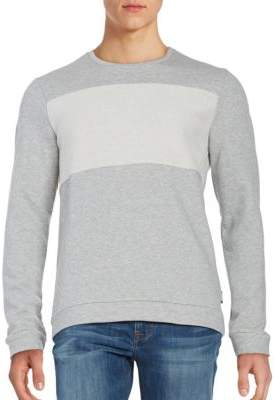 Strellson Textured Cotton Sweatshirt