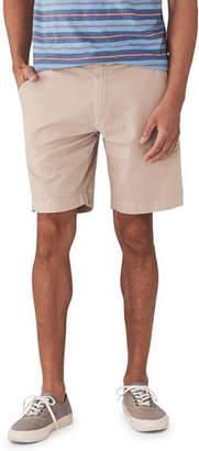Faherty Men's Harbor Stretch-Twill Shorts