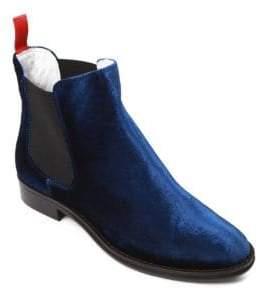 Del Toro Chelsea Velvet Boots