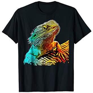 Dragon Optical Bearded T-shirt Lizard Reptile Funny Novelty Tee
