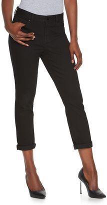 Women's Jennifer Lopez Curvy Fit Capri Jeans $50 thestylecure.com