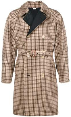 Gucci belted trench coat