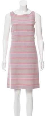 Chanel Striped Wool Dress