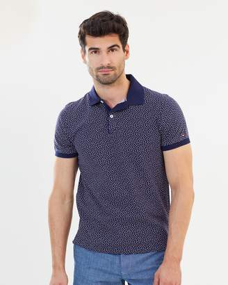 Tommy Hilfiger Micro Flower Print Polo