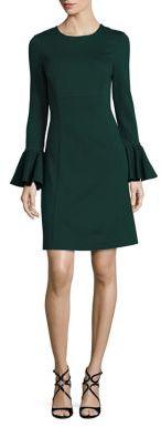 Trina Turk Panache Bell Sleeve Dress $298 thestylecure.com
