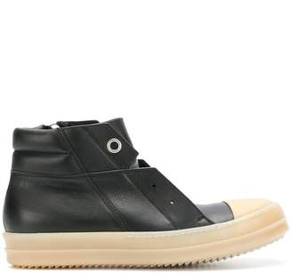Rick Owens Island Dunk hi-top sneakers