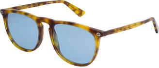 Gucci Unisex Gg0120s 53Mm Sunglasses