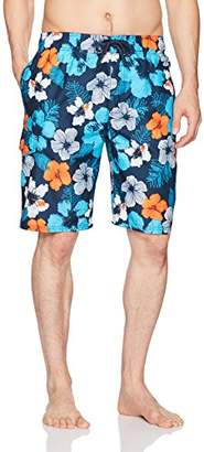 Kanu Surf Men's Hangout Floral Quick Dry Beach Board Shorts Swim Trunk
