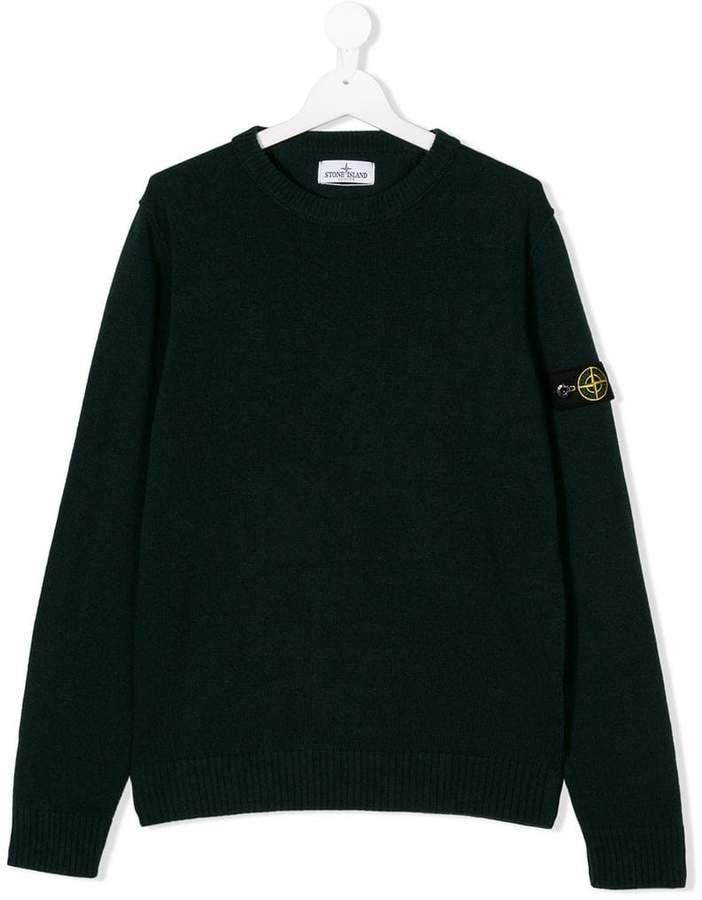 Stone Island Junior knitted jumper