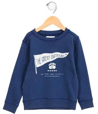Marie Chantal Girls' Printed Long Sleeve Sweatshirt