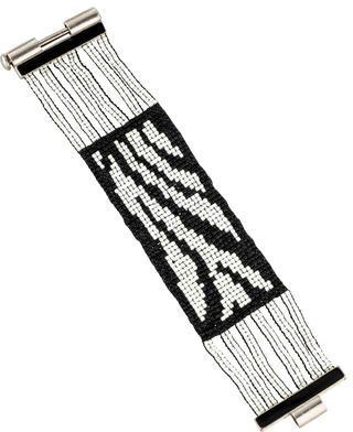 Christian Dior Christian Dior Beaded Cuff Bracelet
