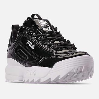 Fila Women's Disruptor II Premium Patent Casual Shoes