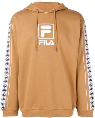 Fila contrast logo hoodie