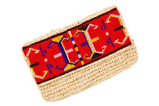 madebywave - Aztec Red Clutch