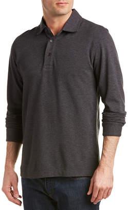 Brooks Brothers Gentleman Oxford Wool-Blend Polo Shirt