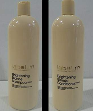 Label.M Brightening Blonde Shampoo And Conditioner (1000ml) Duo (Pack of 6)