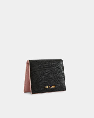 Ted Baker FAYI Textured leather Oyster card holder