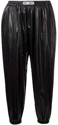 Barbara Bologna 'Plastic' cropped trousers