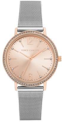 Vince Camuto Women's Light Rose Mesh Bracelet Watch, 34mm