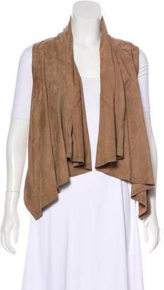 Torn By Ronny Kobo Suede Draped Vest