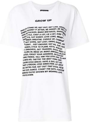 House of Holland Grown up T-shirt