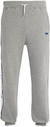 MAISON KITSUNÉ ADER ERROR X Logo-embroidered cotton track pants