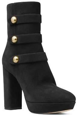 MICHAEL Michael Kors Women's Masie Block Heel Platform Boots