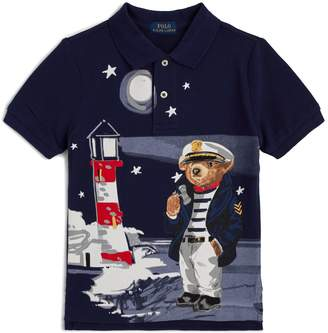 Ralph Lauren Lighthouse Bear Polo Shirt