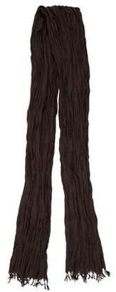 Hermes Woven Linen Muffler