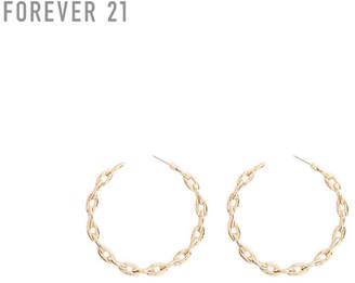 Forever 21 (フォーエバー 21) - Forever 21 チェーンフープピアス