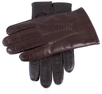 Dents Gloves Dents Shafetesbury Brown Leather Touch Tech Gloves