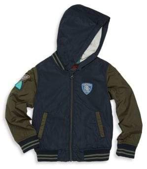 Catimini Little Boy's & Boy's Hooded Bomber Jacket