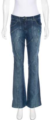 Barbara Bui Mid-Rise Straight-Leg Jeans