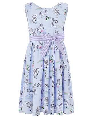 Monsoon Evelyn Unicorn Dress