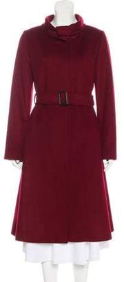 Burberry Wool-Blend Trench Coat wool Wool-Blend Trench Coat