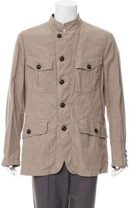 Giorgio Armani Linen Deconstructed Jacket w/ Tags