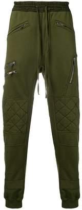 Haider Ackermann zip detail track pants