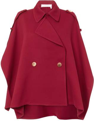 See by Chloe Red Trench Cape