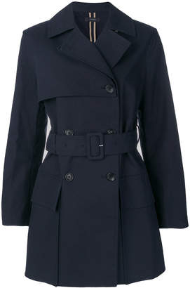 Joseph double breasted short trench coat