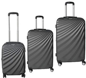 MCBRINE Monarch Series Expandable Three-Piece Luggage Set